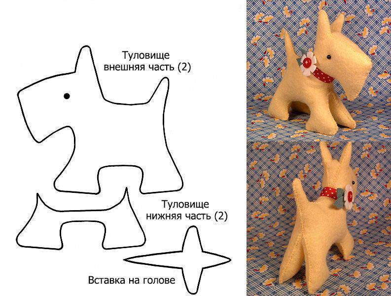 Как сшить игрушку для собаки