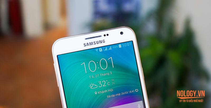 Samsung Galaxy E7 thiết kế đẹp