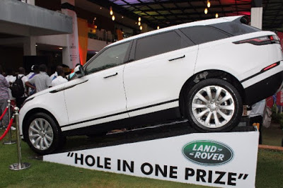 Range Rover Velar Launched In Ghana At The Accra Open Golf Tournament