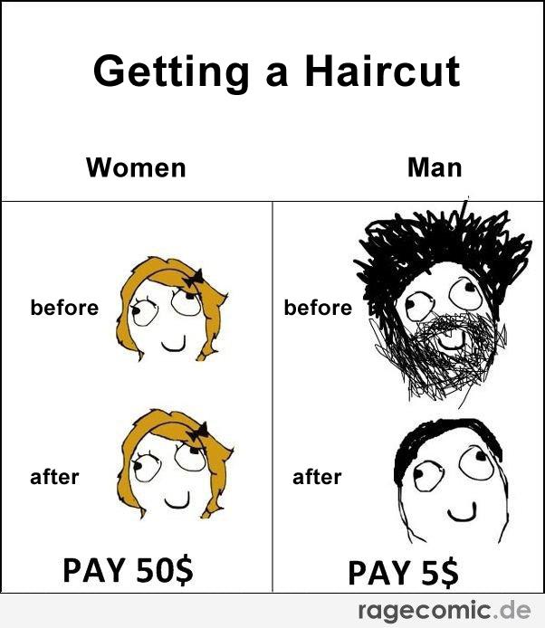 Haircut Girl Meme: Haircut Meme