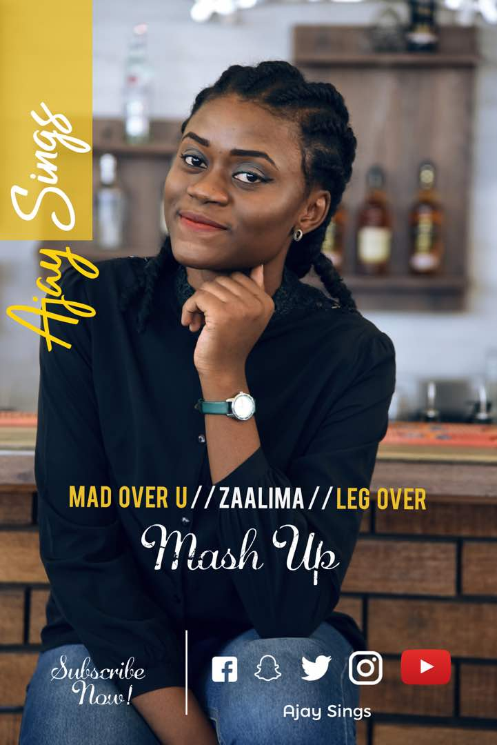 DOWNLOAD: Ajay Sings -Mad Over You vs Zaalima vs Leg Over Mash Up