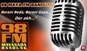 Streaming Radio 98 MAYA FM Bandung