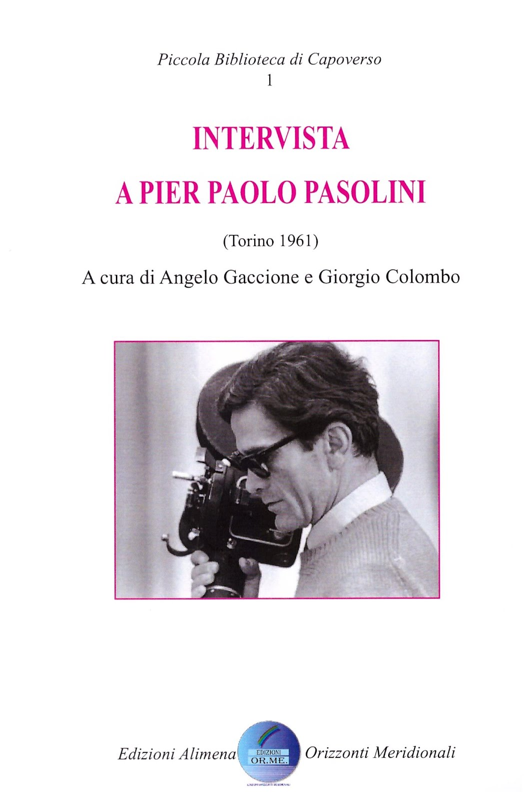 Intervista a Pasolini