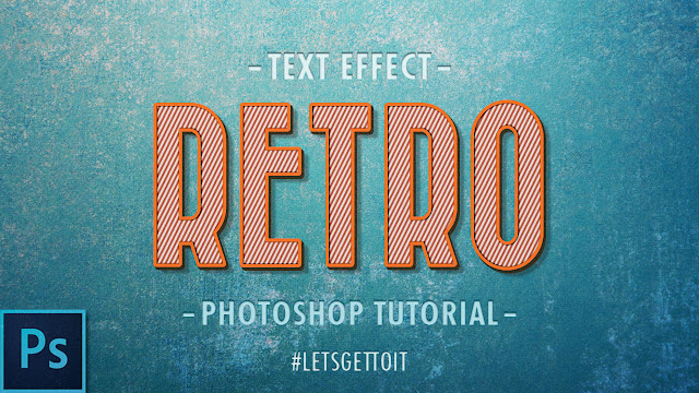 Quickly Create a Retro Text Effect in Photoshop