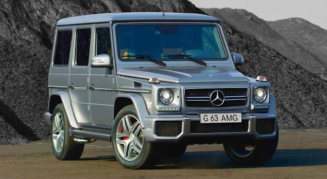 Mercedes AMG G63 2019 được thiết kế vuông vắn và góc cạnh từ trước ra sau