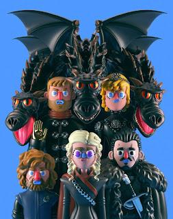 nhân vật phim phỏng theo game of thrones