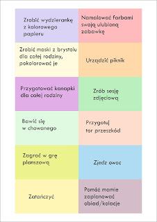 Ania mama Agnieszki: Słoik na nudę, czyli gdy przychodzi