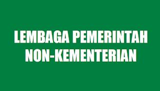 Lembaga Pemerintah Non-Kementerian