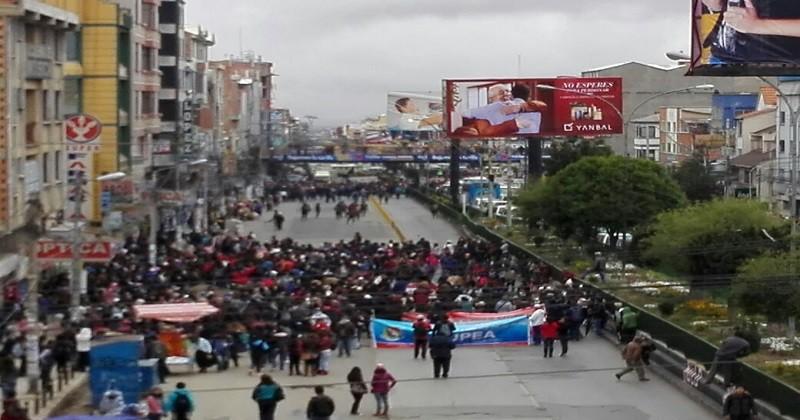 UPEA retoma su pedido de mayor presupuesto desde este 21F / ARCHIVO EL ALTO ES NOTICIA