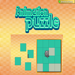 Animation Picture Puzzle (Attention Game)