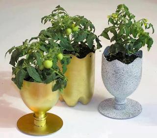 Cara Membuat Pot Bunga Cantik dari Botol Plastik Bekas