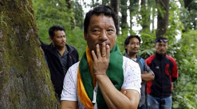 Gorkha leader Bimal Gurung