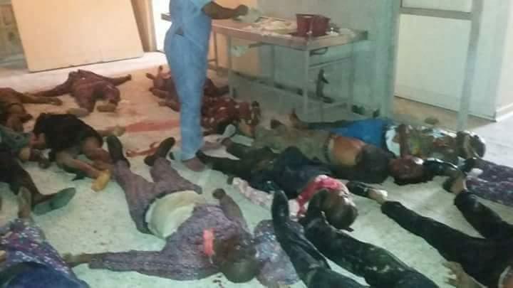 Akwa Ibom Church Collapse Photos Dead Bodies Litter Uyo
