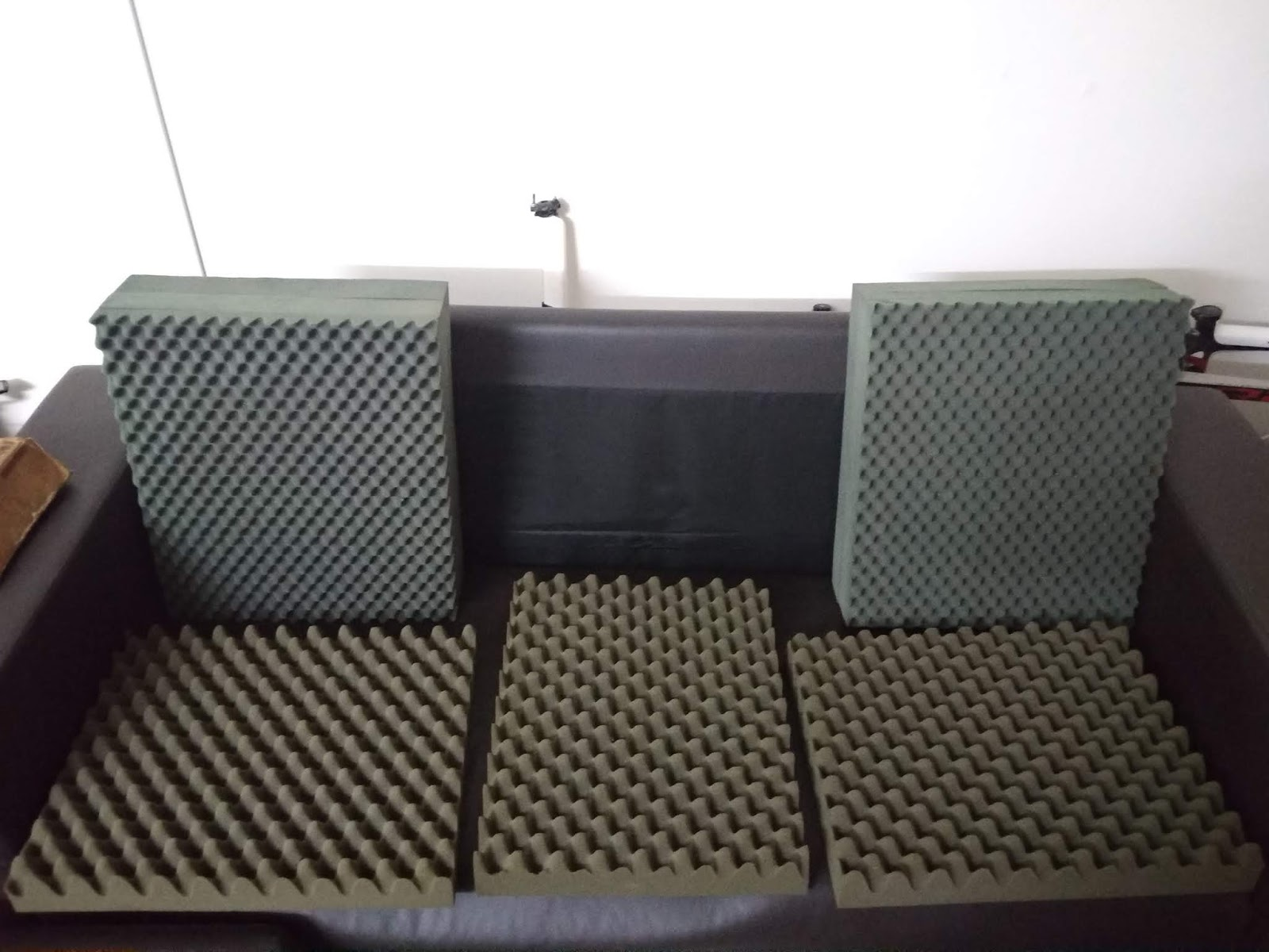 (sold) Crystal Acoustics diffusor foams IMG_20181209_155956