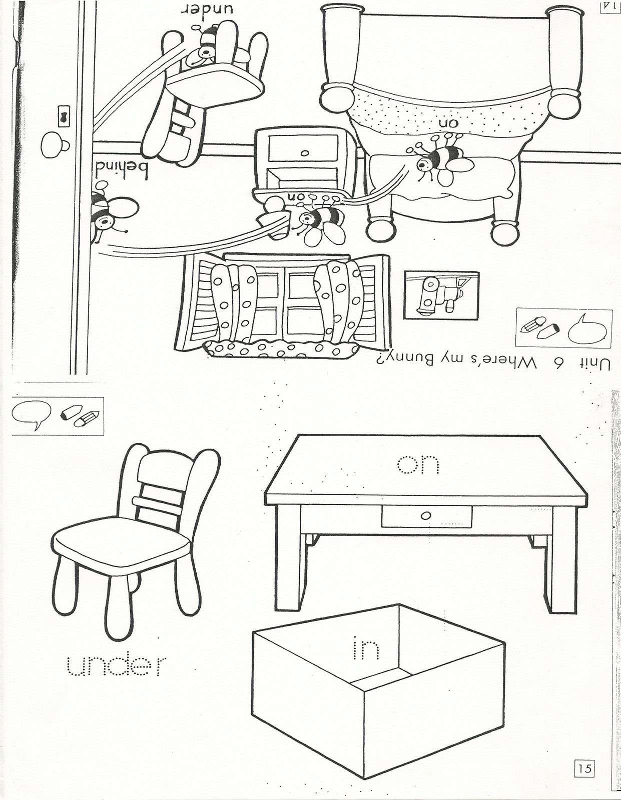 My English Blog Prepositions In On Under