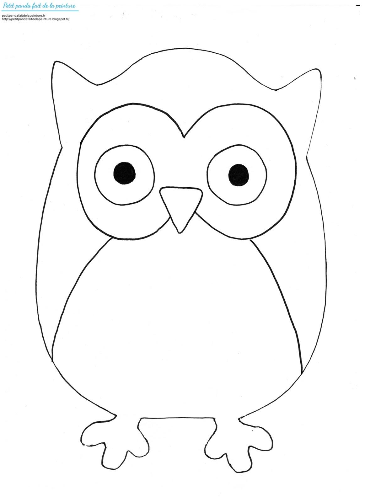 petit panda fait de la peinture une chouette a la owl clipart to print free owl clip art images