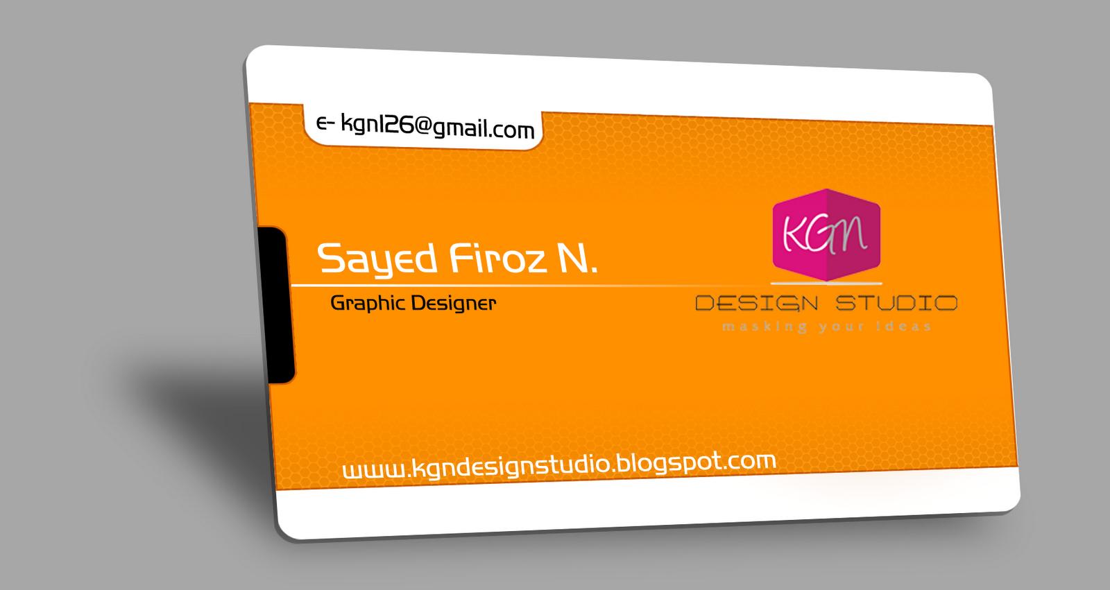 KGN Design Studio: Business Card