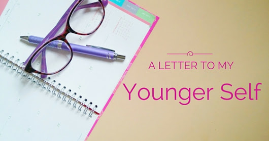 Dear Leah, A Letter to My Younger Self.