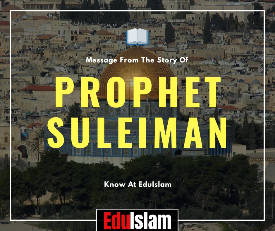 Prophet Suleiman, Suleiman Story In English, Message, David's Son, Solomon, Story Of Prophet Suleiman