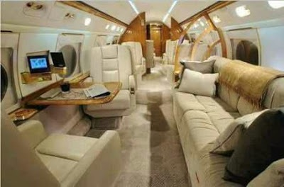 Check Out the Interior of President Buhari's Jet (Photos)