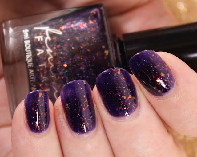 Femme Fatale Hypernova Nail Polish Swatches & Review
