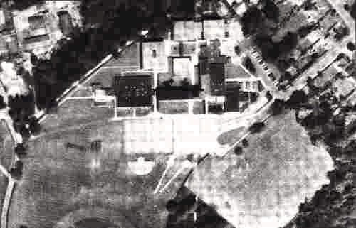 Photograph of Chancellor's School 1968. Image from Aerofilms Ltd