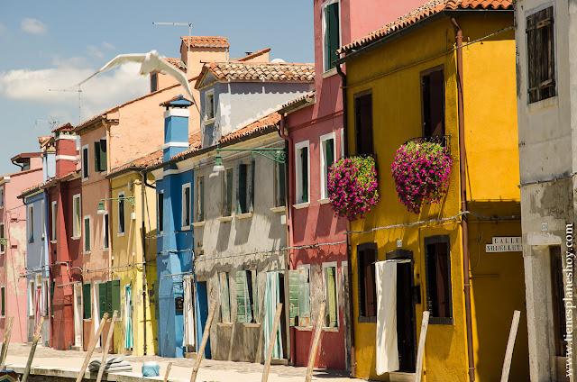 Visitar Burano que ver viaje Italia turismo