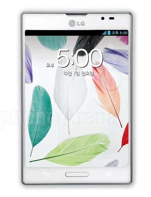 lg optimus vu new android smartphone