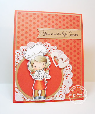 You Make Life Sweet card-designed by Lori Tecler/Inking Aloud-stamps from SugarPea Designs