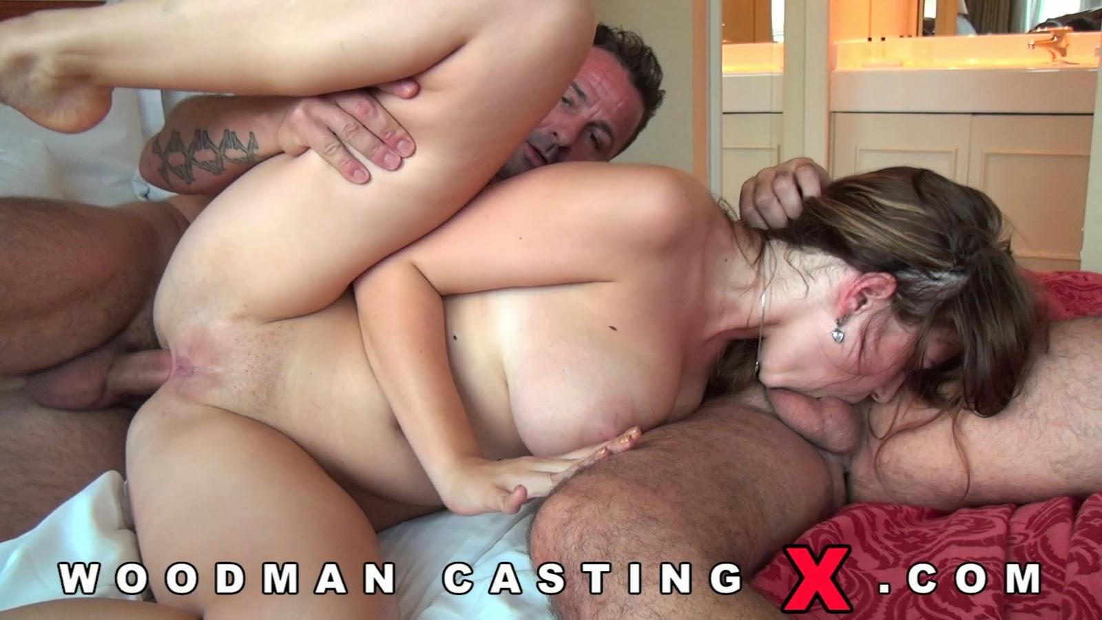 Смотреть порно видео анальный кастинг вудмана, зрелая снегурочка порно фото