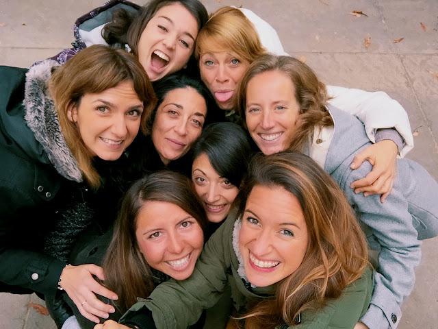 Todas las asistentes al camp 1000FITMEALS celebrado en Madrid