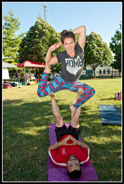 Northside Farmers Market;Yoga