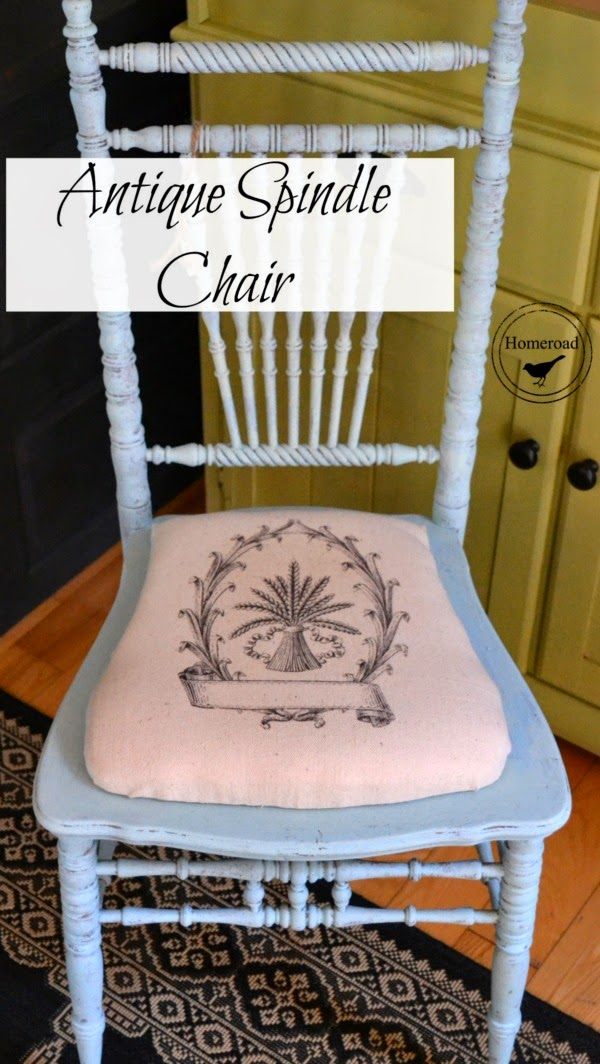 antique-spindle-chair-remake www.homeroad.net