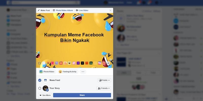 meme facebook lucu