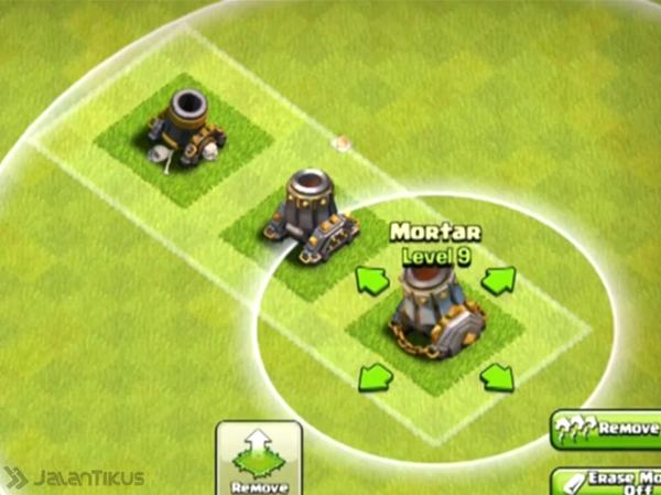 Mortar level 9, coc