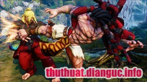 Download Game Street Fighter V Full Cho PC 1 Link Fshare, Street Fighter V, Tải game Street Fighter 5