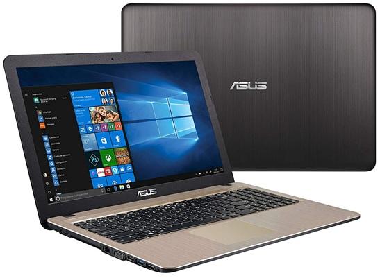 ASUS VivoBook D540NA-GQ059T: Teclado QWERTY chiclet en español