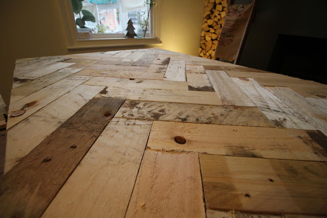Rustic Pallet Wood Table Top