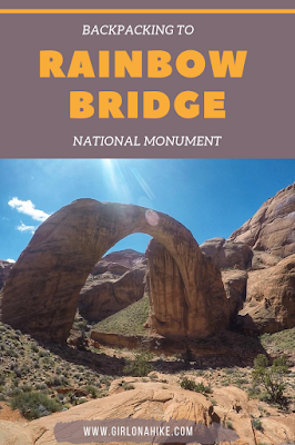 Backpacking to Rainbow Bridge National Monument