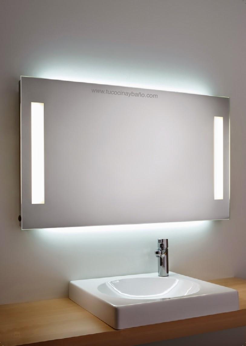 Espejo con luz para el baño | tu Cocina y Baño