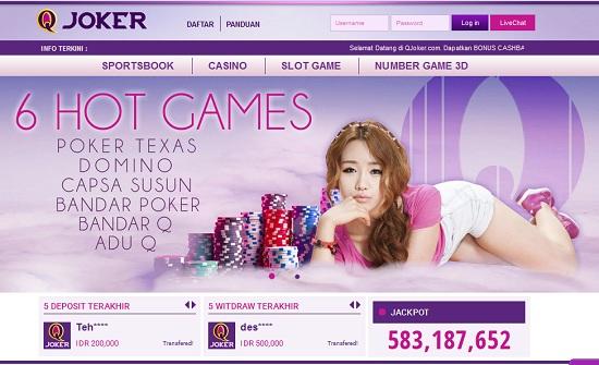 QJoker Agen Judi BandarQ Poker DominoQQ Capsa AduQ Online Indonesia