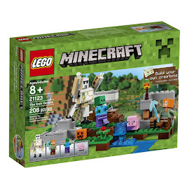 Minecraft The Iron Golem Lego Set