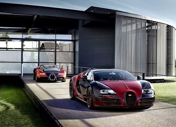 Bugatti armó un vídeo para homenajear al Veyron (vídeo)