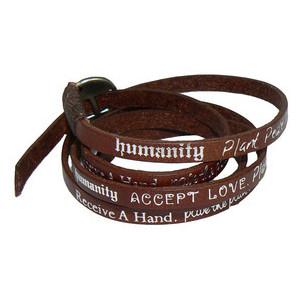 Bracelet Tool Galleries: Humanity Bracelet Leather