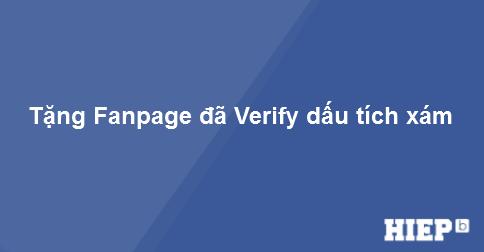 Mini game nhỏ tặng Fanpage đã verify dấu tích xám cho các bạn