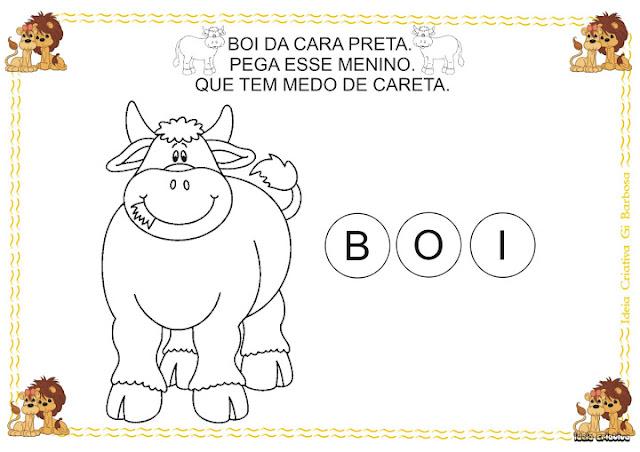 Atividade Temática Animais com Alfabeto Móvel