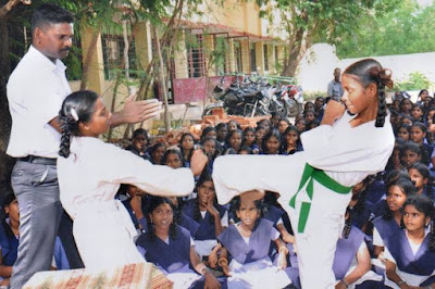 Self Defense Skills Training School Programme for the Year 2018-19 - Implementation of activities in 13 Districts of all Govt., MPPUPs, ZPHS, KGBVs, Model Schools, Muncipal, Social Welfare and Tribal Welfare Schools for the Girl Students of 8th, 9th Class and 11th & 12th standards of Intermediate Colleges - Schedule - Orders Issued - Reg.
