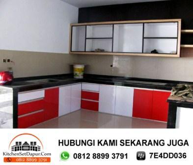 Tukang kitchen set ciputat desain kitchen set rumah for Harga pembuatan kitchen set per meter
