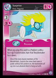 My Little Pony Surprise, Party Pegasus Premiere CCG Card
