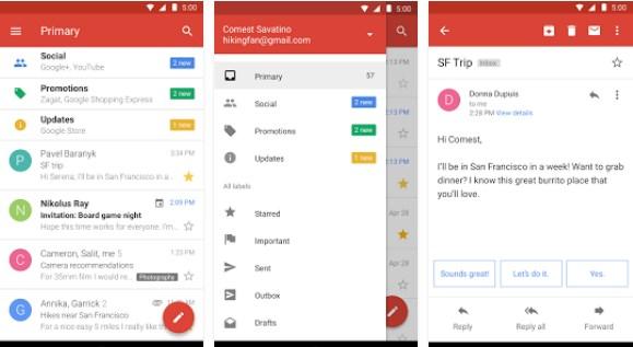 Gmail Go, Versi Lite Dari Aplikasi Gmail Sudah Tersedia Di Google Play